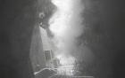 Video: Khu trục hạm Mỹ phóng tên lửa hủy diệt radar phiến quân