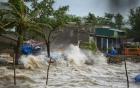 Bão số 7- bão Sarika giật cấp 16 tiến thẳng Quảng Ninh- Nam Định