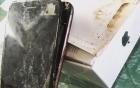 iPhone 7 bốc cháy suýt thiêu rụi một chiếc ô tô