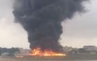 Video: Rơi máy bay nghi chở quan chức EU