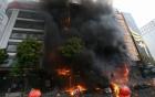 Cháy dãy quán karaoke ở Trần Thái Tông: Ai chịu trách nhiệm?