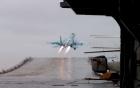 SU-33 Nga cất cánh ngoạn mục dưới góc quay 360 độ
