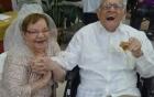 Cụ bà làm đám cưới đầu tiên ở tuổi 80