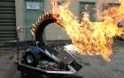 Trận chiến nảy lửa của những robot bọc thép điều khiển từ xa