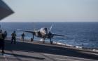 Video: Xem tiêm kích F-35B Mỹ tập trận trên tàu đổ bộ