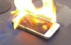 iPhone 6 Plus phát nổ, khói bốc nghi ngút