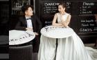 Ngắm váy cưới gắn 10.000 viên pha lê của MC Mai Ngọc