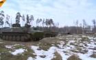 Video: Xem tình báo Nga tập trận dưới băng tuyết lạnh giá