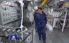 Hoạt động của máy điều khiển cáp giữ máy bay trên tàu sân bay Đô đốc Kuznetsov