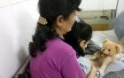 Nữ sinh lớp 4 bị bạn học phi bút làm hỏng mắt trái