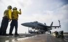 Nguy hiểm rình rập trên boong tàu sân bay Mỹ