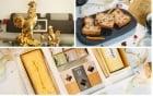 Phủ vàng từ bánh ngọt tới tượng gà, phục vụ nhu cầu ăn chơi của người Việt