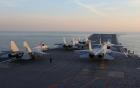 Tàu sân bay Trung Quốc vừa tập trận ở Biển Đông
