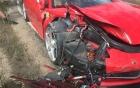 Tai nạn kinh hoàng của siêu xe Ferrari 458 Italia tại Mỹ