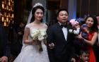 Toàn cảnh đám cưới xa hoa của Hoa hậu Thu Ngân và chồng hơn 19 tuổi