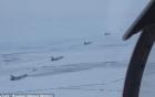 Video: Máy bay Nga dàn trận sau khi Putin lệnh sẵn sàng chiến đấu