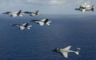 Hai không đoàn tàu sân bay Mỹ bị cho