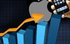 Nhu cầu iPhone tăng mạnh đẩy cổ phiếu Apple đạt giá kỷ lục