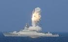 Video: Chiến hạm Nga phóng tên lửa hành trình diệt phiến quân