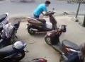 Dâng xe máy cho trộm chỉ vì quên rút chìa khóa