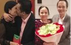 Ngày 8/3: tỷ phú Quyết vào bếp nấu ăn, bầu Hiển ôm hôn vợ