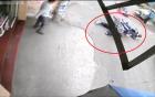 Tránh người đi bộ ngã ra đường, thanh niên bị xe khác cán qua