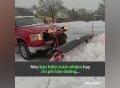 Làm thêm nghề dọn tuyết kiếm 1 triệu USD/năm