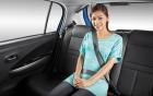 Ngồi ghế sau ôtô không thắt dây an toàn sẽ bị xử phạt