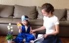 Elly Trần khoe ảnh con gái cực đáng yêu