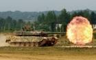 Xe tăng Báo đen của Hàn Quốc phô diễn uy lực