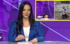 MC xinh đẹp chui xuống bàn khi bị cầu hôn trên truyền hình trực tiếp