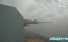Video: Tàu Trung Quốc thử nghiệm bắn đạn thật gần Triều Tiên