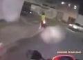 Màn truy đuổi nghi phạm nghẹt thở trên phố đêm