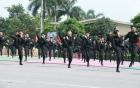 Màn trình diễn như phim hành động của học viên Cảnh sát Nhân dân