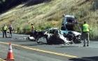 Nữ tài xế sống sót thần kỳ sau khoảnh khắc ôtô bị xẻ đôi
