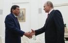 Duterte bỏ dở chuyến thăm Nga vì IS tấn công thành phố