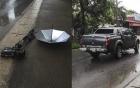 Khởi tố vụ phóng viên VTV bị lái xe ô tô tông hỏng máy quay phim tiền tỷ