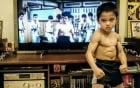Thân hình cơ bắp nhờ tập võ của