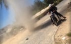 Lốc xoáy cát xuất hiện giữa trời nắng chang chang ở Ngũ Hành Sơn