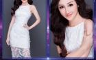 Liên tiếp xuất hiện những cô gái đẹp như Tây Thi, Hoa hậu Hoàn vũ Việt Nam 2017 nóng lên từng ngày