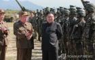 Kim Jong-un thị sát quân đội tấn công giả định chiếm đảo Hàn Quốc
