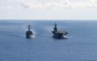 Mỹ tăng cường thách thức Trung Quốc ở Biển Đông bằng chiến hạm, máy bay