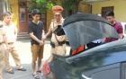 Bắt giữ người đàn ông liều lĩnh dùng xe gắn biển xanh giả vận chuyển ma túy đá