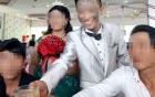 Chú rể gây xôn xao với khuôn mặt xăm trổ tại tiệc cưới