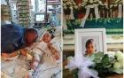 Giây phút cuối ám ảnh của người bố bên cạnh con gái 2 tuổi bị mẹ đẻ bạo hành đến chết
