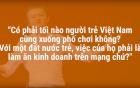 """Các bạn trẻ nghĩ gì khi nghe tỉ phú Jack Ma nhận xét """"người trẻ Việt tối nào cũng đi chơi?"""""""