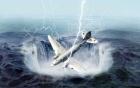 """Máy bay """"ma"""" bí ẩn xuất hiện trên bầu trời Mỹ"""