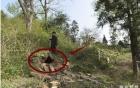 Phát hiện cái hang gần ngôi mộ, khi đào sâu vào trong người đàn ông ngay lập tức báo cảnh sát