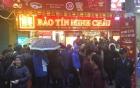 Hà Nội: Xếp hàng dầm mưa từ sớm chờ mua  vàng ngày vía Thần tài, phố Trần Nhân Tông náo loạn