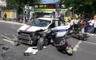 Tai nạn liên hoàn, 6 xe tông nhau, nhiều người nhập viện